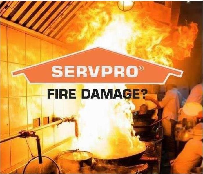 SERVPRO is here to take care of your fire restoration needs.